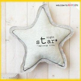 星之夜星星月亮夜光安撫抱枕 裝飾玩偶 大星星【HH婦幼館】