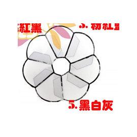 ^(TWC~^) Petals 花朵寵物防舔咬頭套保護圈~醫療版 ^(XS~黑白灰^)