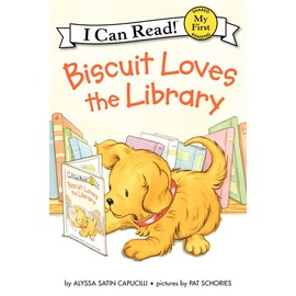 My First I Can Read~Biscuit Loves the Library