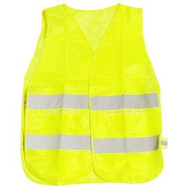 工作型側面伸縮反光背心-黃色★安全防護 警戒作用