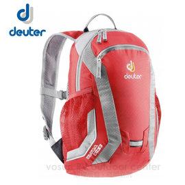 【德國 Deuter】Ultra Bike 10L 兒童自行車背包.旅遊休閒背包.登山背包.雙肩後背包/ 36062 紅/灰