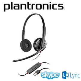~Lync整合 雙耳型 USB~Plantronics Blackwire C320~M