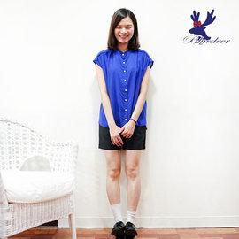 American Bluedeer 2015春夏超低價 立領抓褶女衫