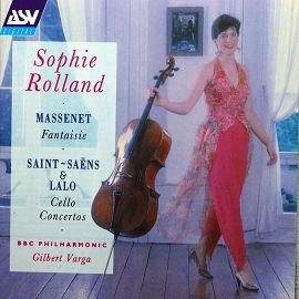 ASV DCA867 拉羅 聖賞第一號大提琴協奏曲 馬斯奈 幻想曲 Saint Saens