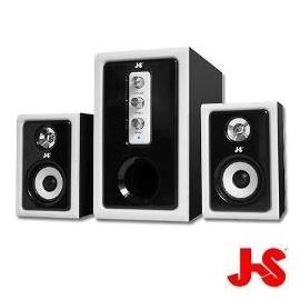 ~迪特軍 3C~JS 淇譽電子~JY3013~粗紋木質 三件式多媒體喇叭 JY3060 J