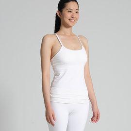 ~NAMASTE瑜珈服~CHI ~ Y細肩帶 款背心 ~ 白 210204~800