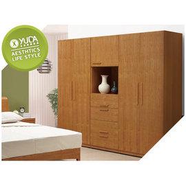 衣櫥~YUDA~米蘿 實木 日式木作 2.7尺 雙吊桿衣櫃  衣櫥 J6S 51~7