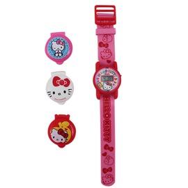 ~卡漫屋~ Hello Kitty 兒童錶 掀蓋式 ㊣版 凱蒂貓 三麗鷗 卡通錶 電子錶