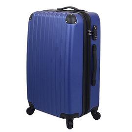 1980↘ 下殺LETTi ~ 簡約~24吋 菱格防刮旅行箱~深藍色
