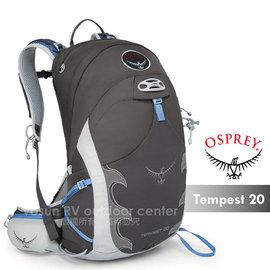 【美國 OSPREY】新款 Tempest 20(S/M)日用系列 多功能水袋登山背包/旅行背包.登山.健行.野外探險_灰 R