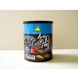 Q~F02~950S 微笑的魚水族~ TOP~aqua 達普 ~中小型~慈鯛飼料 950m