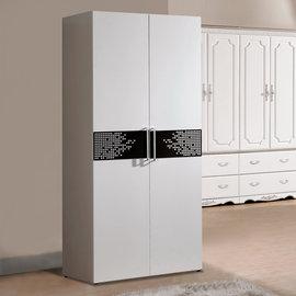 【 屋】 C5 波爾卡2.7尺雙吊衣櫃C5-636-2免 免組裝 製 櫥櫃 辦公桌椅 人體