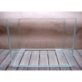 微笑的魚水族~~ 製~~優白高透明魚缸^(超白玻璃開放缸^) 48x27x29cm  5m
