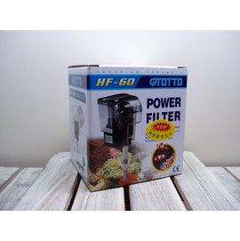 微笑的魚水族~ OTTO~奧圖~外掛式過濾器 60L H~100^% 製,停電免加水