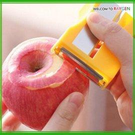 創意削鉛筆刀造型水果去皮器 沙拉瓜果刨 廚房必備工具【HH婦幼館】