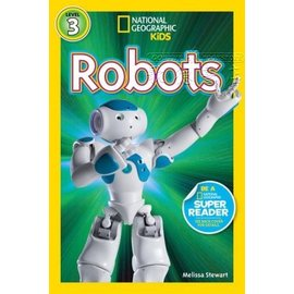 ~兒童國家地理~National Geographic Readers: Robots