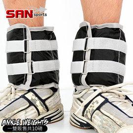 【SAN SPORTS 山司伯特】10磅綁腿沙包P143-082 (10磅重力沙袋.取代啞鈴.舉重量訓練.運動健身器材.推薦.哪裡買)