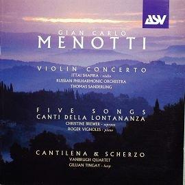 ASV DCA1156 融合義大利美國作曲家梅諾悌 Gian Carlo Menotti