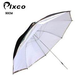 雙 柔光反射傘. 靈活方便Pixco兩用柔光傘 反射傘超大直徑35吋^(90CM^)