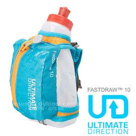 【ULTIMATE DIRECTION】FASTDRAW™ 10 立式手握運動包(含運動水壺)隨身包.適馬拉松 跑步 三鐵.自行車.跑步_海藍 80448214