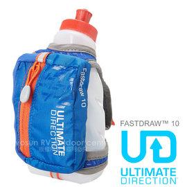 【ULTIMATE DIRECTION】FASTDRAW™ 10 立式手握運動包(含運動水壺)隨身包.適馬拉松 跑步 三鐵.自行車.跑步_深藍 80448214
