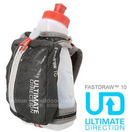 【ULTIMATE DIRECTION】FASTDRAW™ 10 立式手握運動包(含運動水壺)隨身包.適馬拉松 跑步 三鐵.自行車.跑步_黑/灰 80448214