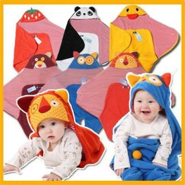 六款可愛動物 嬰兒抱毯 抱被 男女寶寶包被 新生兒繈褓睡袋 嬰兒推車睡袋【HH婦幼館】