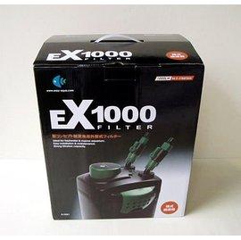 微笑的魚水族~ EASY~伊利~外置式圓桶過濾器 EX1000~附 濾材~方^(圓^)桶過