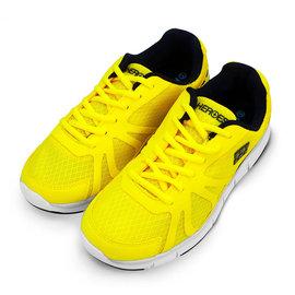HEROES 練習型基礎慢跑鞋 堅持者 Hyper Striver ~ 閃耀黃