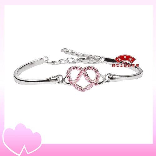 無限愛情~銀飾女手環