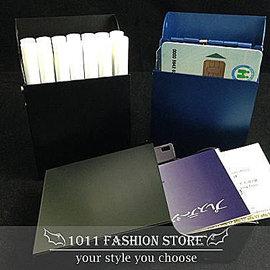 ~ 1011 小舖 ~ 金屬鋁製 上彈蓋 自動 菸盒  香煙盒  名片盒 ^( 媲美 zi