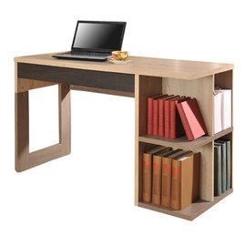 Asllie 北歐多功收納書桌120^~50開學季88折^(標價己折扣^)再送桌上型書架