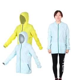 PUMA 女慢跑系列素色輕量連帽風衣外套(免運 路跑 運動外套【03330581】≡排汗專家≡
