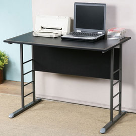 ~Homelike~馬克100cm辦公桌~仿馬鞍皮 工作桌 電腦桌 NB桌 書桌 OA