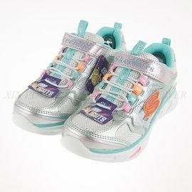 65折出清~SKECHERS (童) 女童系列 電燈鞋 慢跑鞋 - 10477LSMLT