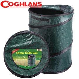 【加拿大 COGHLANS】新款 萬用魔術桶/壓縮摺疊桶.彈力筒.置物桶.露營收納桶.食物儲存桶.垃圾桶.多用途RV筒 非Coleman 1219 綠