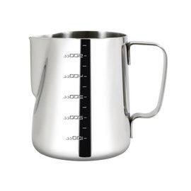 ~3557~Driver拉花杯550ml 超厚1.2mm高 304不�袗�烘焙刻度量杯 咖