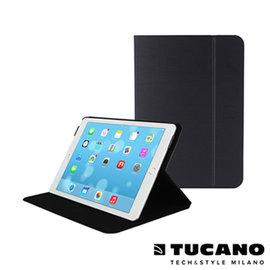 TUCANO iPad Air2 Folio 髮絲紋可站立式保護套~ 黑
