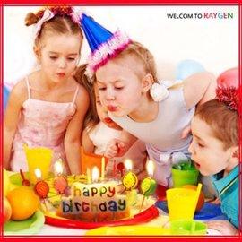 蛋糕蠟燭 HAPPY BIRTHDAY生日蠟燭+氣球燭【HH婦幼館】