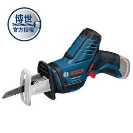 BOSCH 充電式軍刀鋸GSA 10.8V-LI solo(單機)★鋸片更換快速便利★小握把圓周及輕量化設計