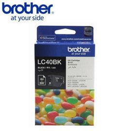 Brother LC40BK 黑色墨水匣