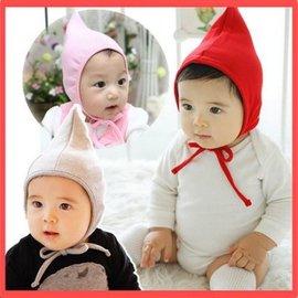 帽子 韓版新款兒童帽子尖頂嬰兒帽子寶寶帽子護耳秋冬款【HH婦幼館】