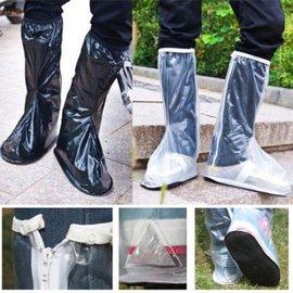 雨鞋套  防滑雨鞋男女款磨砂高筒PVC防雨防滑鞋套膠鞋 【HH婦幼館】