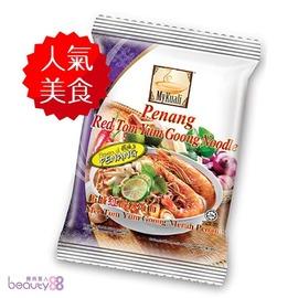檳城 紅酸辣湯麵 ^(105gx4包入 袋^) X4
