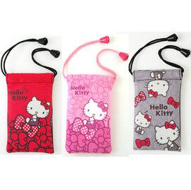 不正常玩具 柔軟 超織 袋Hello Kitty M 3.5吋  蝴蝶結灰 蝴蝶結大紅 蝴