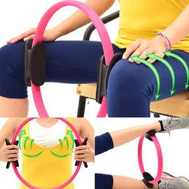 有氧美型彈力韻律圈C109-5802健身圈瑜珈圈美體圈.美腿夾.貝殼機剪肥圈瑜珈環健美環.普拉提圈.美腿機運動器材推薦哪裡買