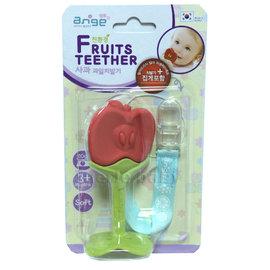 ANGE 水果寶寶固齒器-蘋果