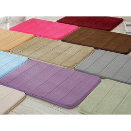 瑜伽墊 珊瑚絨地墊 防滑 記憶地墊 睡墊 床墊 腳踏墊地毯 鋪墊 室內 衛浴踏墊