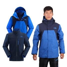THE NORTH FACE 男GT APEX兩件式外套(刷毛保暖 免運 GORE-TEX【03390989】≡排汗專家≡