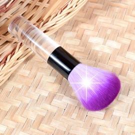 美容小物E~22透明柄蜜粉.修容.腮紅萬用刷 ^~35550^~~美容美髮美甲新秘 材料~